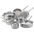 Anolon 30822 Tri-Ply Stainless 12-Piece Cookware Set for $449