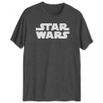 Hybrid Men's Star Wars Logo T-Shirt Gray Size Large for $34
