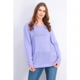 Karen Scott Women's Patchwork-Stitch Pullover Sweater Purple Size 2 Extra Large for $94