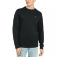 Levi's Men's Bailey Logo Crew-Neck Sweatshirt Black Size XX-Large for $94