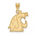 NCAA 10k Yellow Gold Washington State Large Pendant for $267