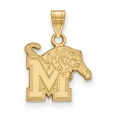 NCAA 14k Gold Plated Silver U. of Memphis Small Pendant for $40