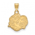 NCAA 14k Yellow Gold North Carolina Small Pendant for $330