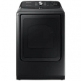 Samsung DVE50R5400V 7.4 cu. ft. Black Electric Dryer with Steam Sanitize+ for $999