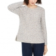 Style & Co Women's Striped Sweater Gray Size Extra Small for $94