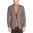 Tommy Hilfiger Men's Modern-Fit Thflex Stretch Sport Coats Brown Size 36 for $219