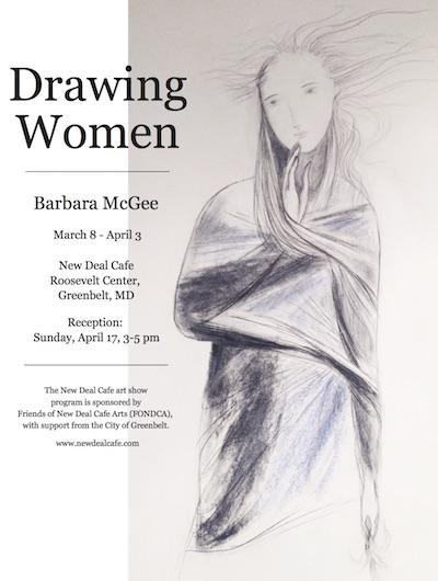 Drawing by Barbara McGee