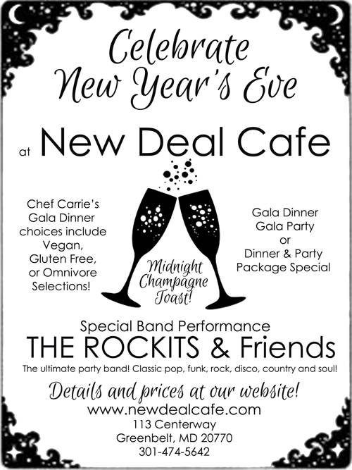 New Year\'s Celebration at New Deal Cafe - New Deal Cafe