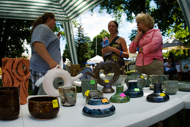Arts and Crafts vendors