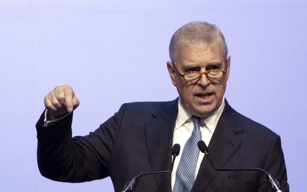 Us Prosecutors Spar With Prince Andrew In Epstein Probe New