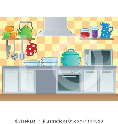 Kitchen Clip Art Cartoon Border