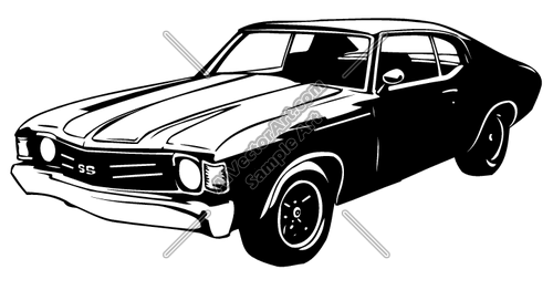Muscle Car Clipart