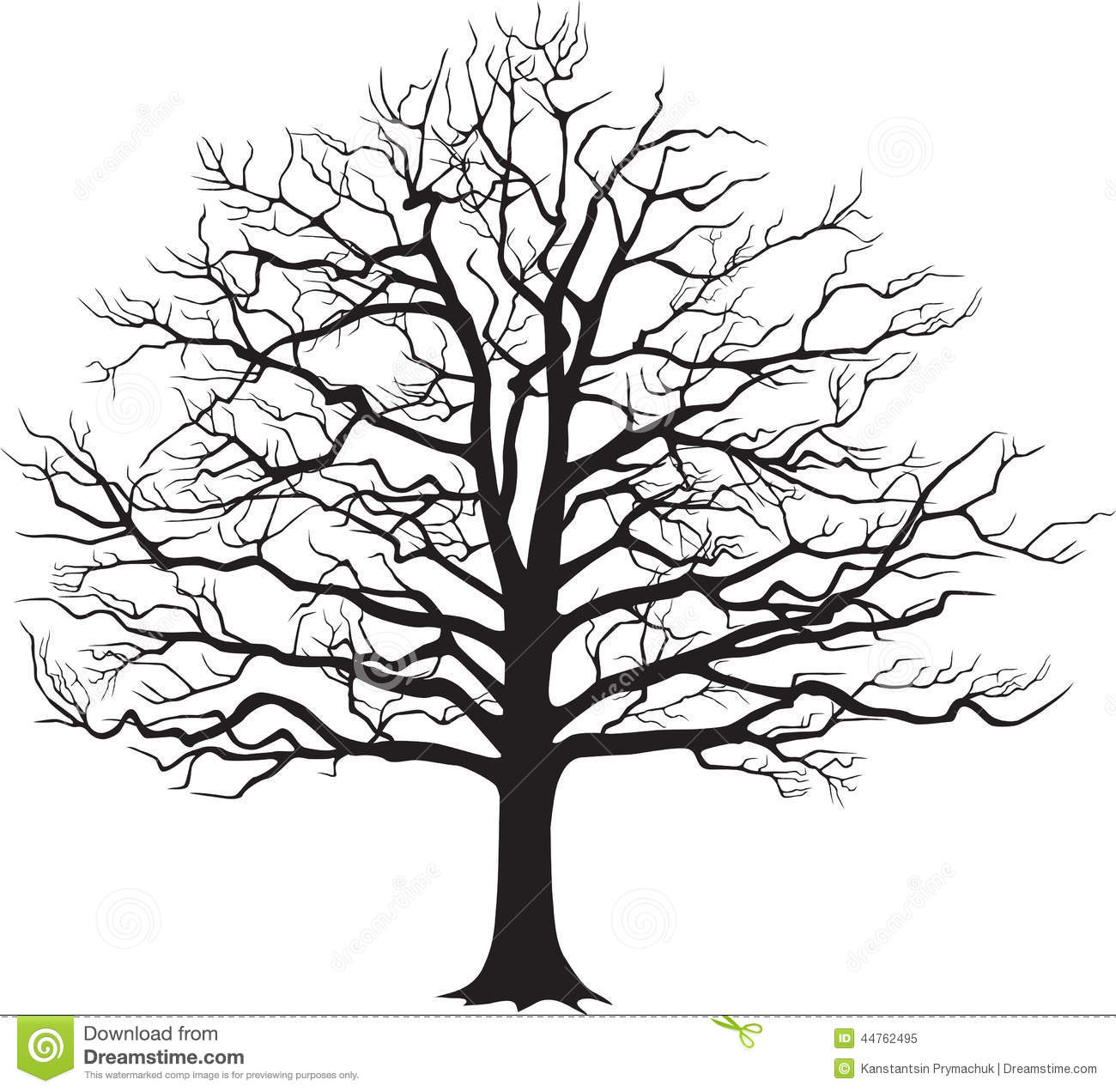 11 Bare Tree Vector Graphics Images