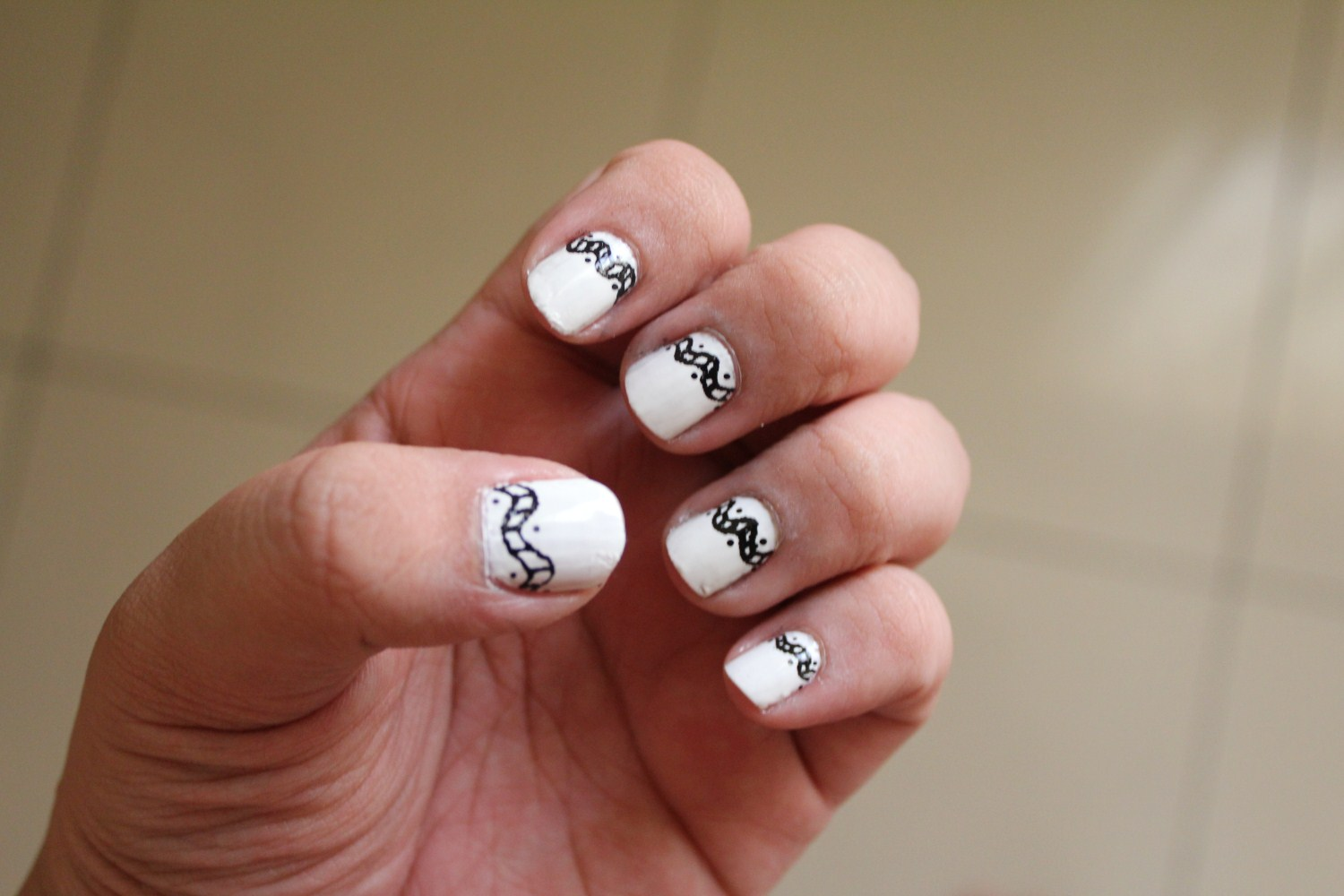 Black And White Nails For Beginners Pretty Designs View Images