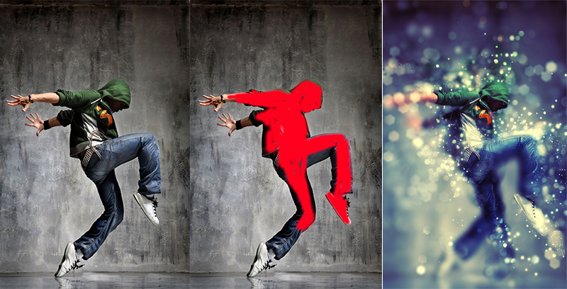 8 Creative Photoshop Effects Images Paint Effect