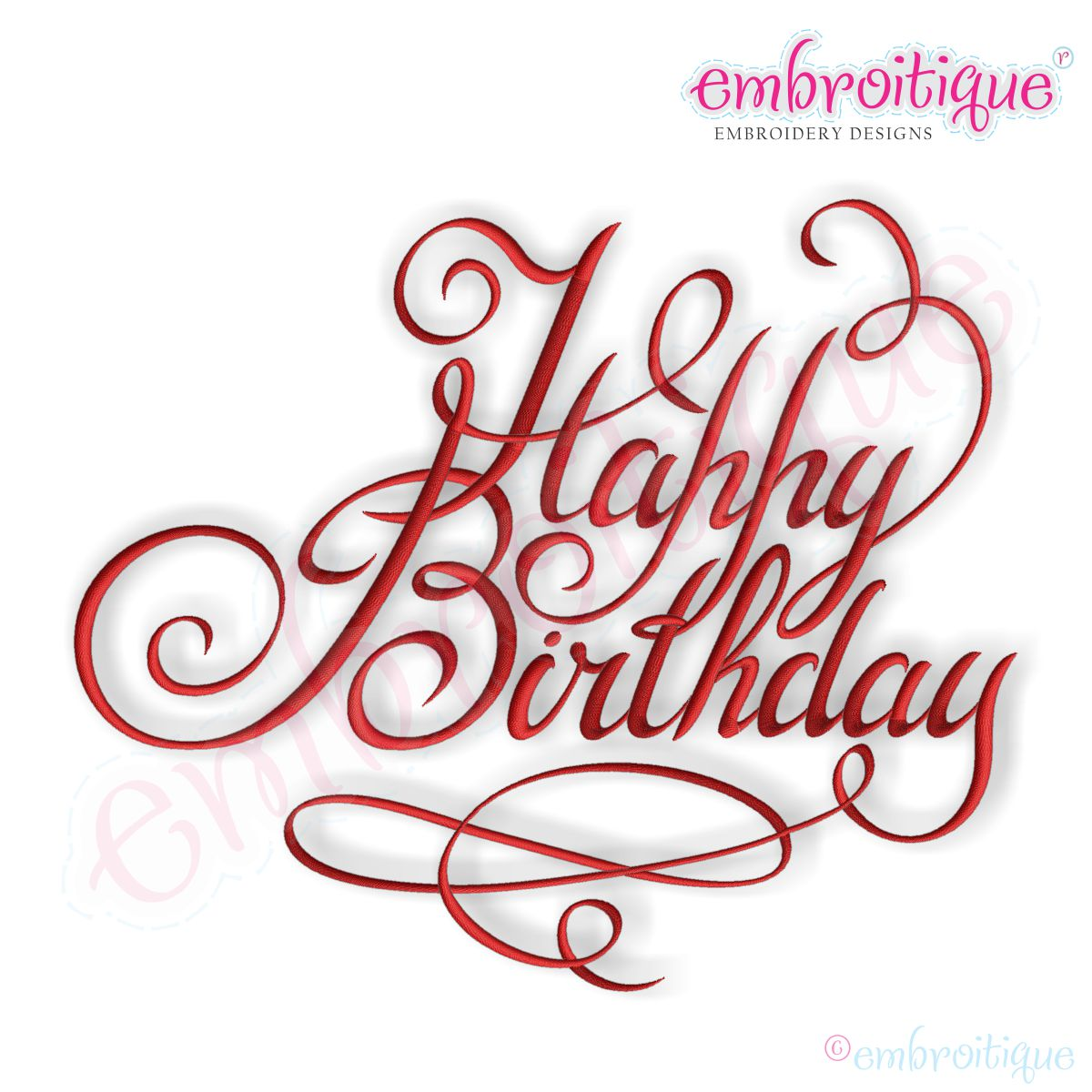 15 Happy Birthday Calligraphy Font Images