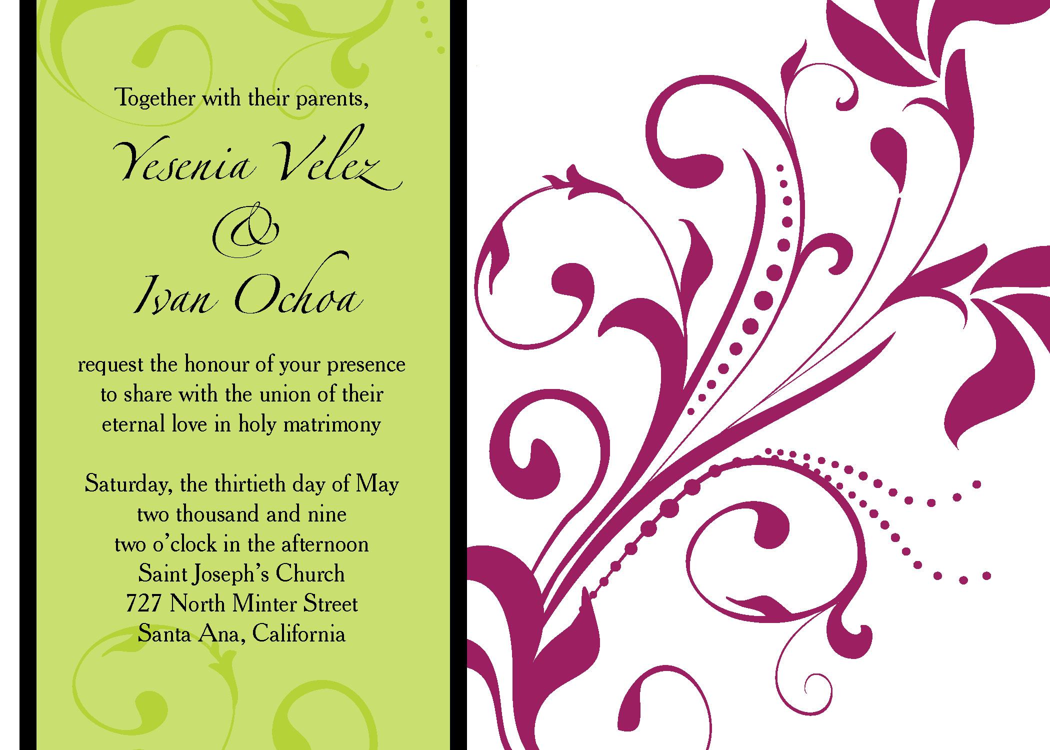 Wedding Invitation Graphics   PaperInvite