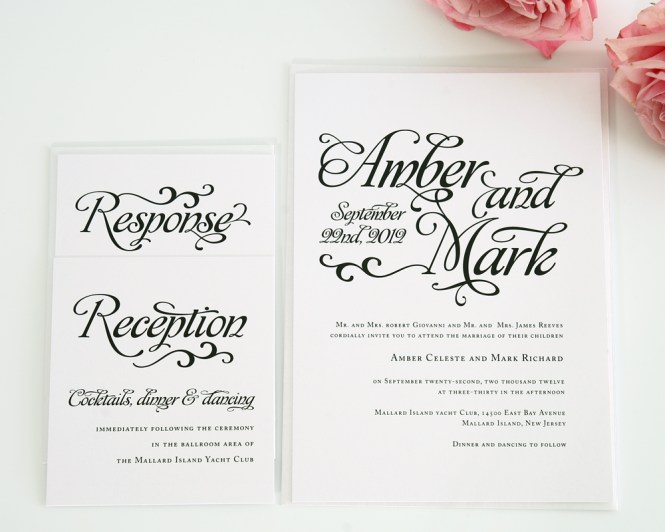 12 Script Fonts For Wedding Invitations Images