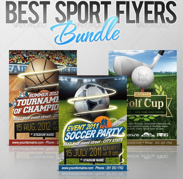 Doc450690 Free Sports Flyer Templates sports flyer templates – Free Sports Flyer Templates