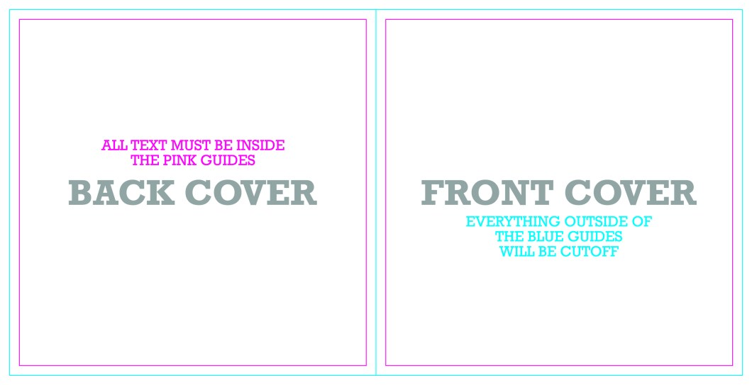 cd front cover template