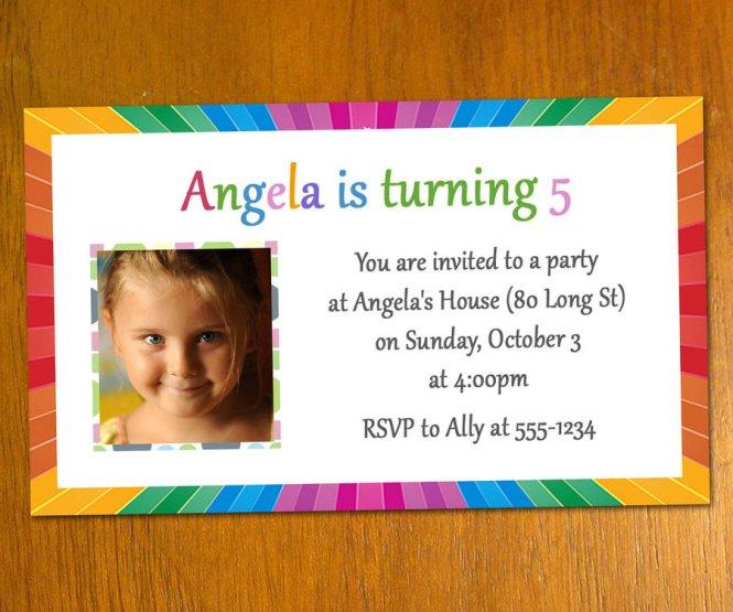 1st Birthday Invitation Card Template Psd – Free Birthday Invitation Cards Templates