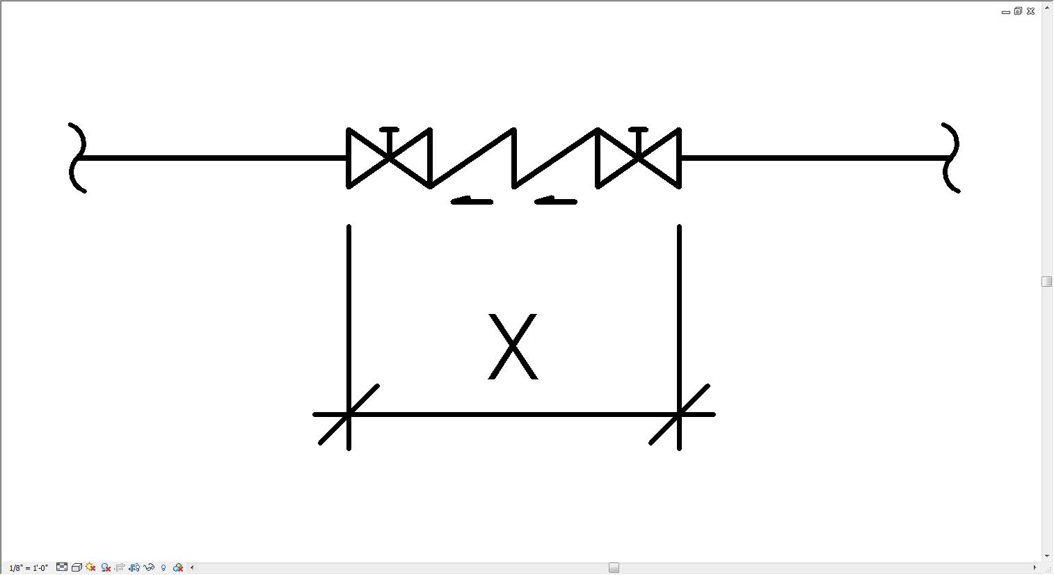 Backflow Valve Diagram Symbol