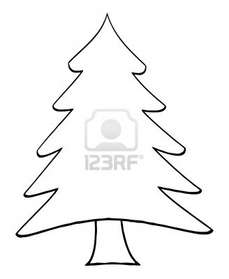 16 Christmas Tree Outline Vector Images Cartoon Christmas Tree Outline Free Christmas Tree Outline And Charlie Murphy Newdesignfile Com