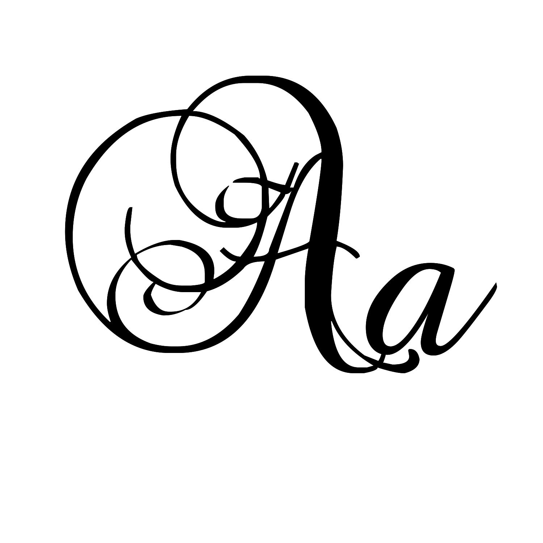 12 Vintage Fancy Lettering Fonts Images