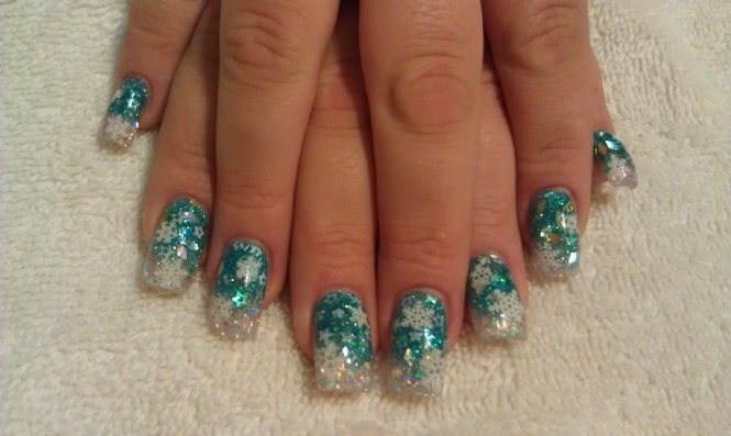 Source Cute Acrylic Nails With Design