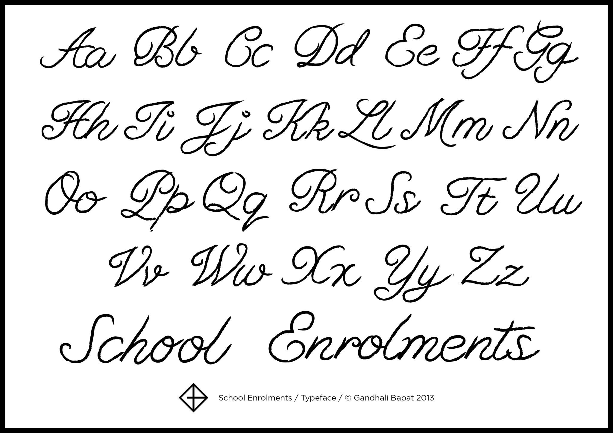 12 Script Fonts Alphabet Images