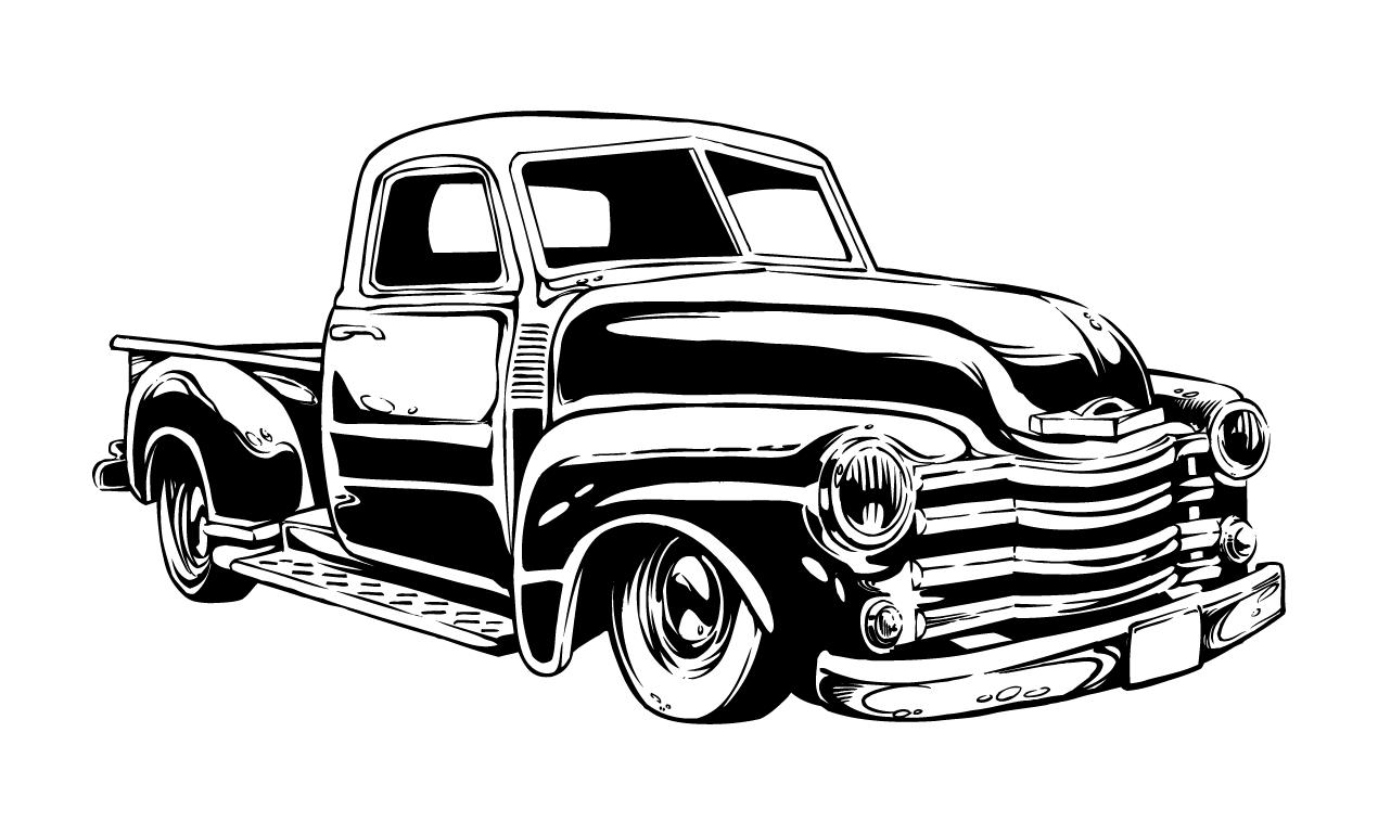 Vintage Hot Rod Model Cars
