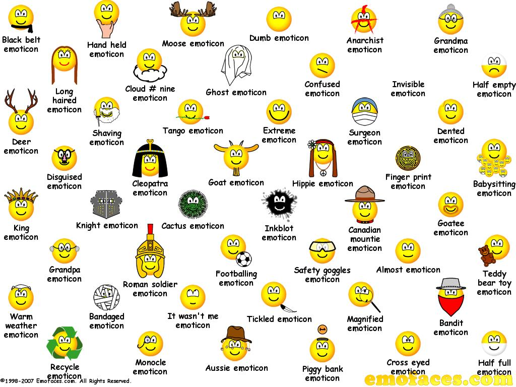 11 Dirty Emoticons Keyboard Codes Images