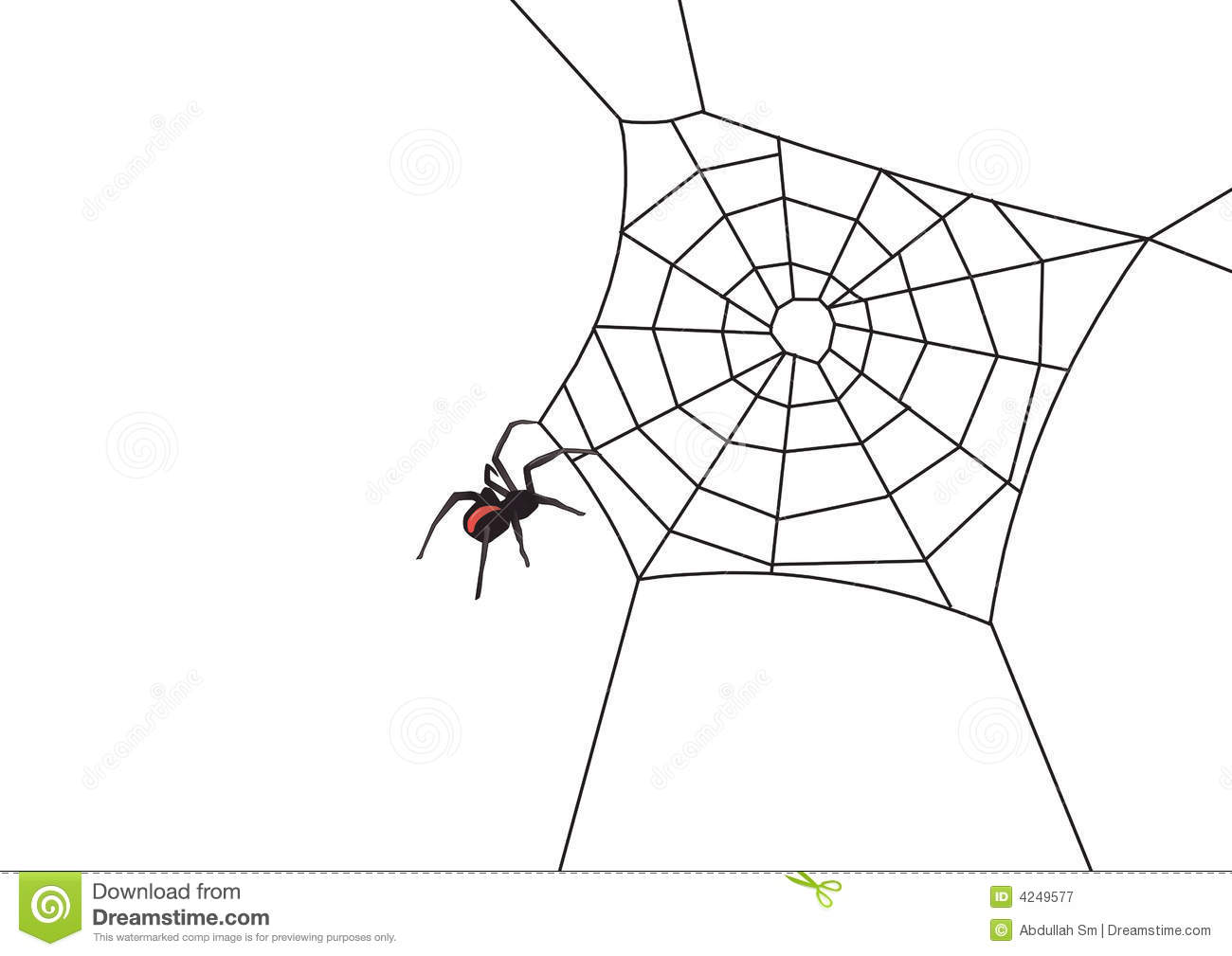 8 Spider Web Border Vector Images