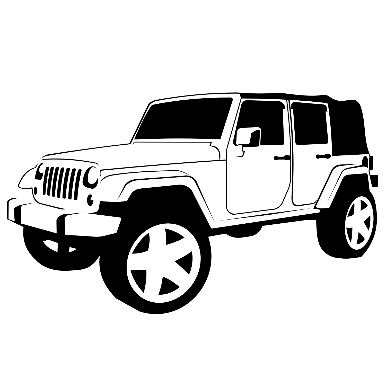 Jeep Wrangler Tire Jack Placement