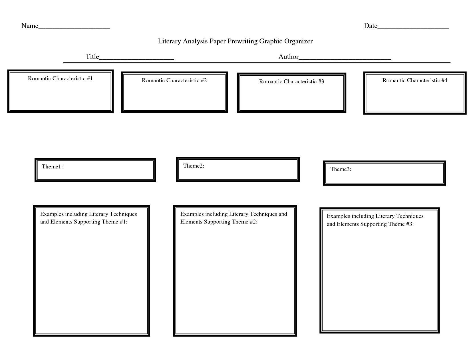 Thesis Writing Organizer