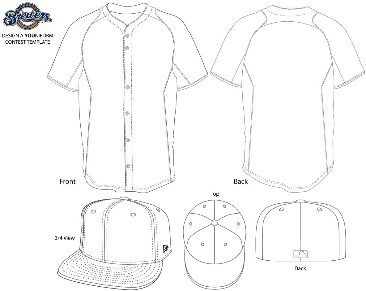 Baseball Jersey Outline