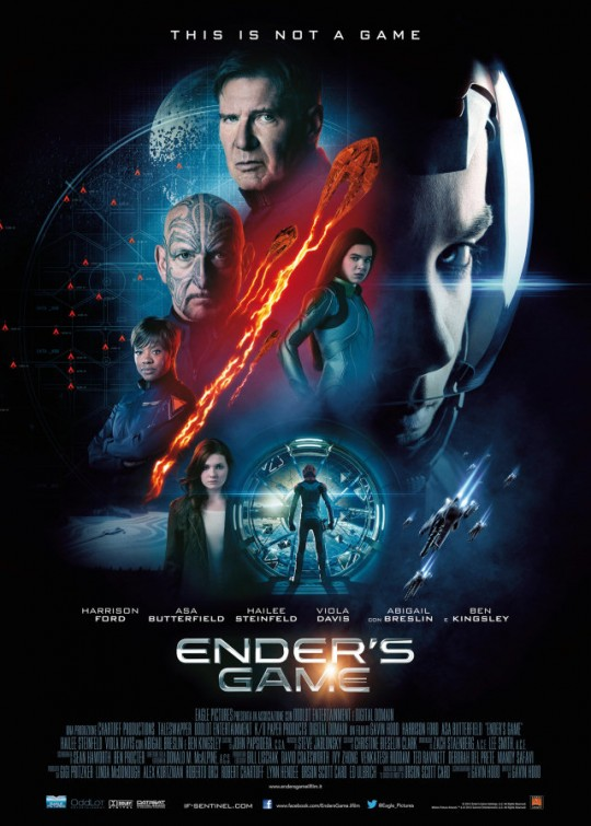 Enders Game DVD Release Date Redbox Netflix ITunes Amazon