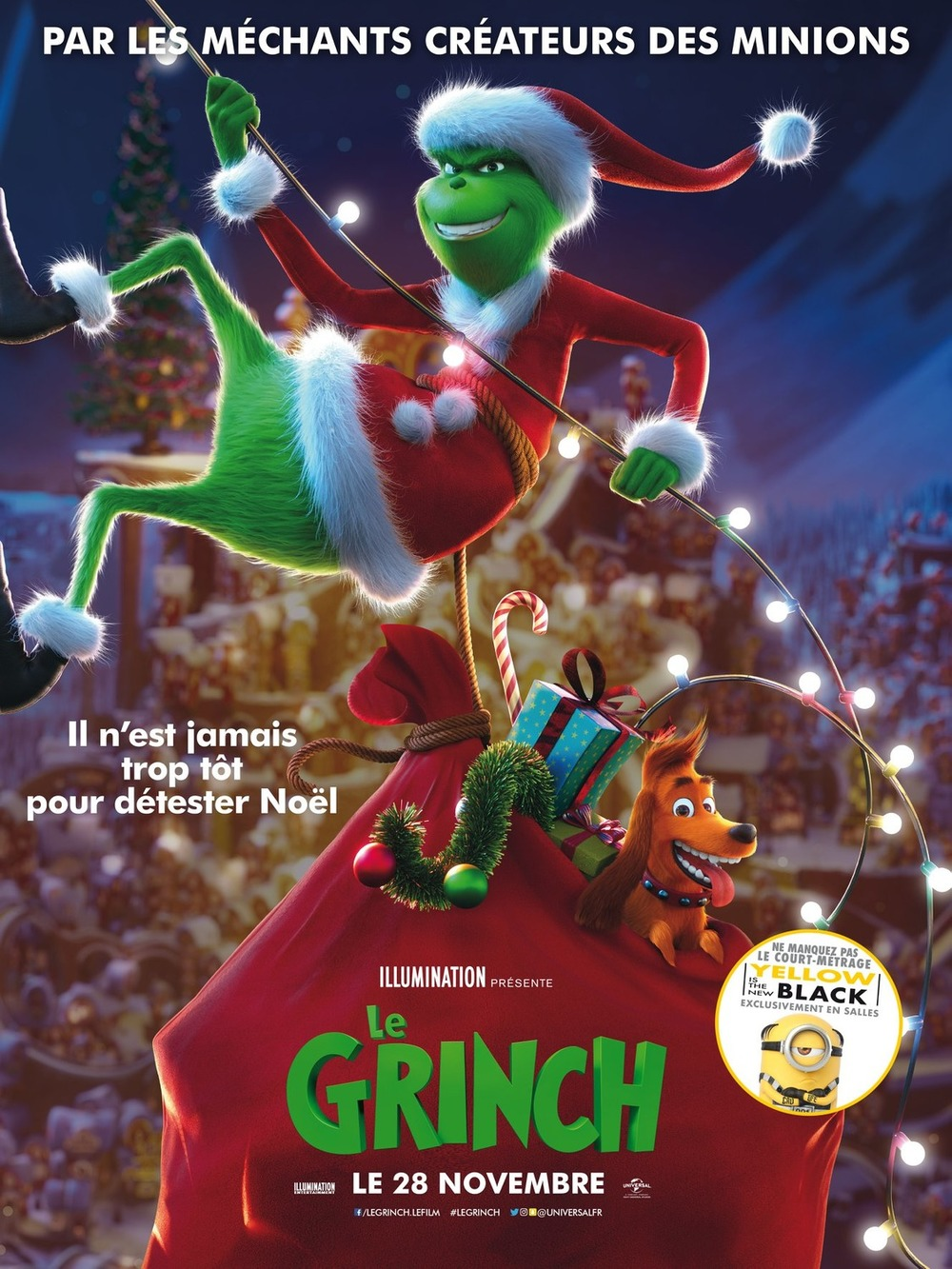 Grinch Who Stole Christmas Full Body Image