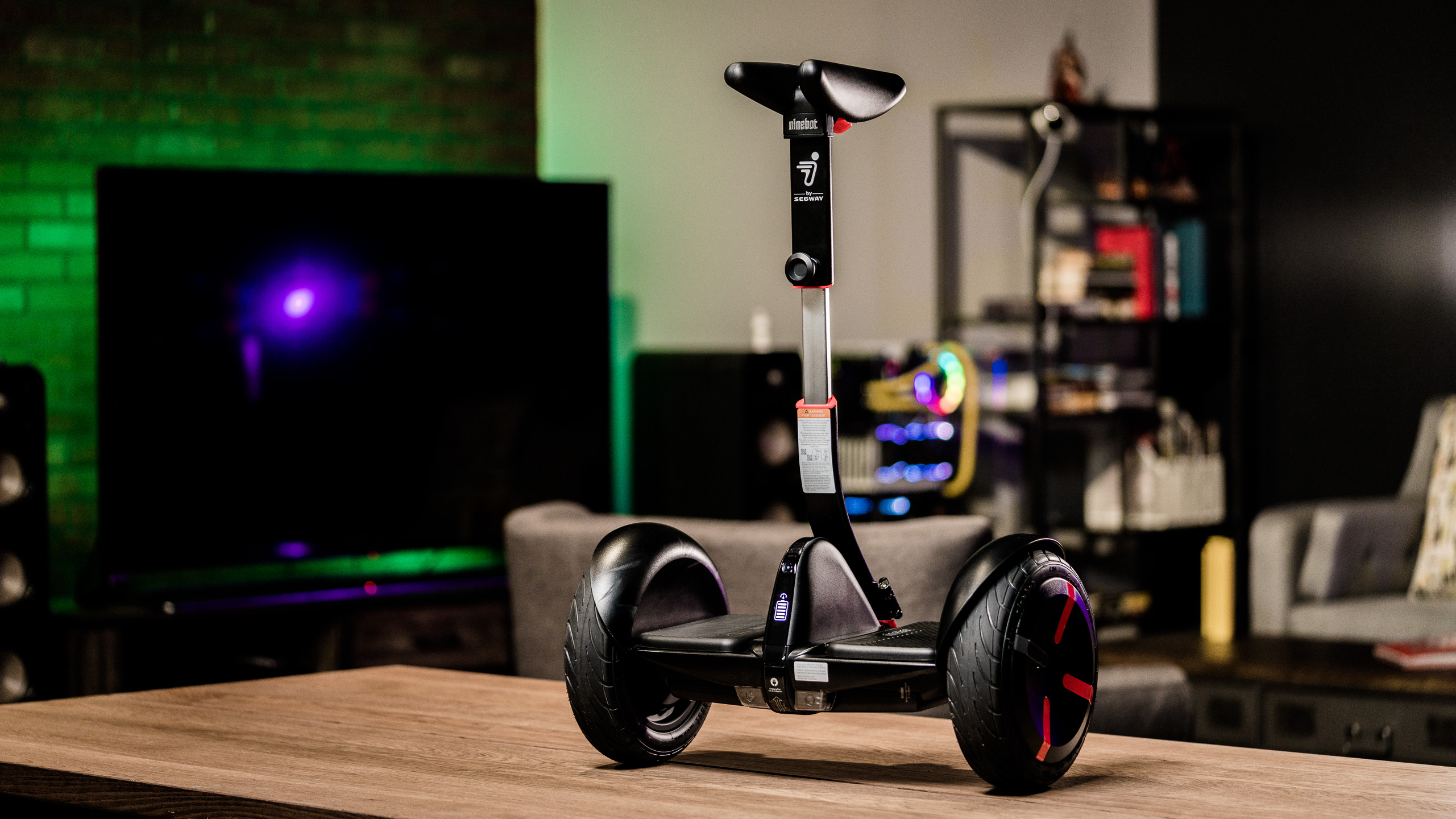 Ninebot by Segway's miniPRO electric personal transportation is compact, quick to charge, and speedy.