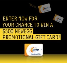 Newegg Facebook Sweepstakes