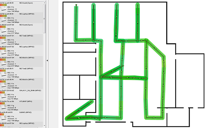 How to Create Your Own Wi-Fi Heat Map - HardBoiled