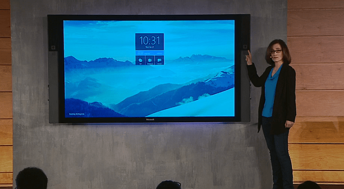 Win 10 Surface Hub