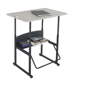 Thinking on Your Feet: The Standing Desk Gains Momentum in the Classroom