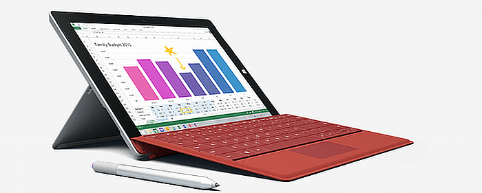 surface 3 700
