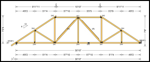 Truss – wikipedia, the free encyclopedia, In engineering, a truss is