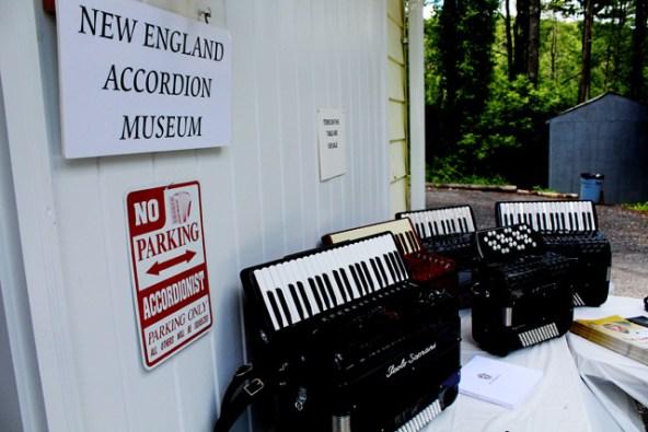 New-England-Accordion-Museum-Exhibit-Canaan-CT-Paolo-Sopranis-in-entrance