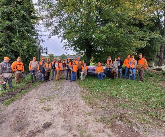 New England Adventures Veterans Pheasant Hunt