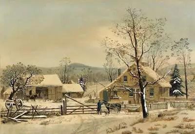 snow henry david thoreau