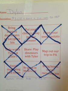 9 square chart