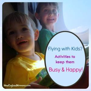 Flying With Kids - Keep them busy & happy